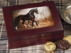 Keepsake Box - 'The Flirt' - 14 pc